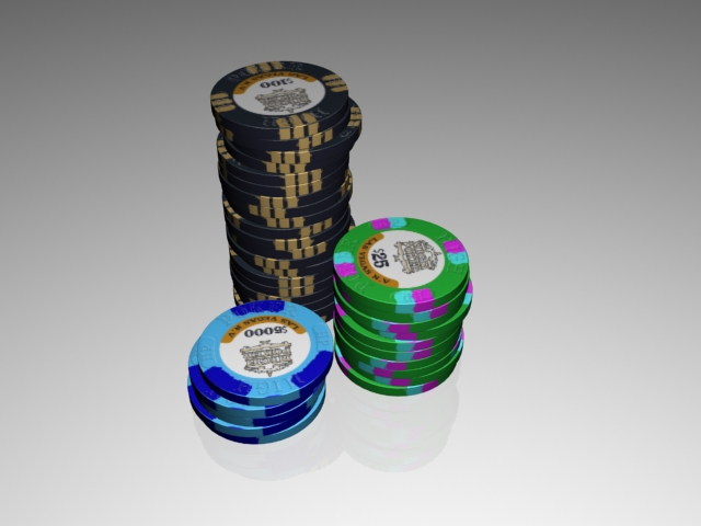 High Stakes Poker Chips Replica