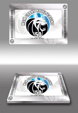 Plaque céramique poker MGM